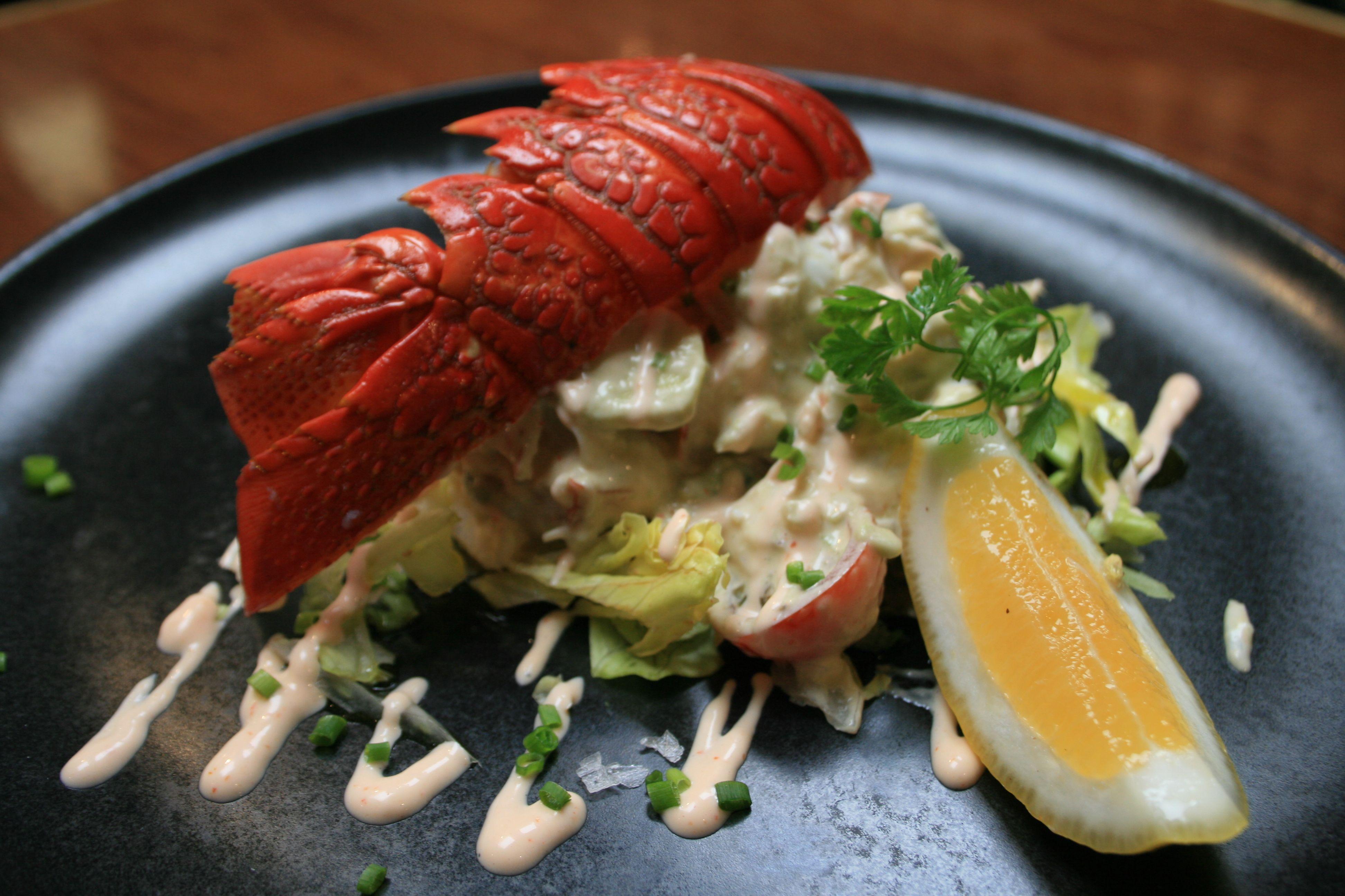 Boulcott-Street-Bistro-Crayfish-Salad